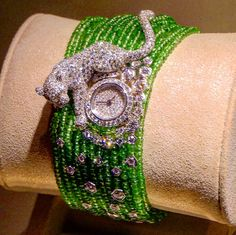 mariigemThis Magnificent watch and bracelet made by #cartier