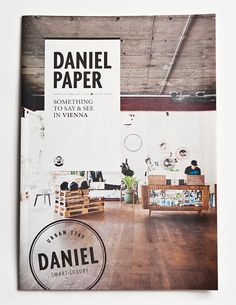 Hotel Daniel Paper designed by Moodley Brand Identity design firm Austria Editorial Design Layouts, Layout Design, Web Design, Book Design, Cover Design, Print Design, Packaging Inspiration, Layout Inspiration, Graphic Design Inspiration