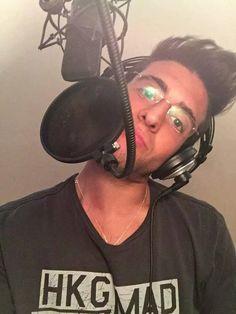 July 15th, 2015 Repost from Piero Barone 00:04AM July15th STILL RECORDINGGGGG #sleepy [#savePiero]