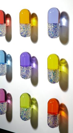 Glitter pills. My solution for our overmedicated society.