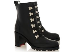 Christian Louboutin Country Croche 70mm Leather Boots