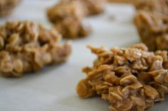 Country Girl At Heart: Peanut Butter No Bake Cookies