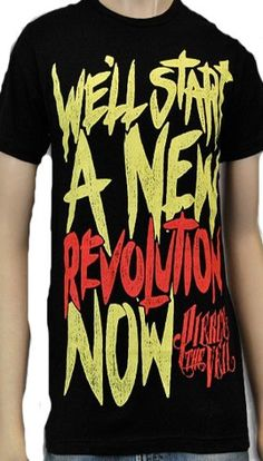 Pierce The Veil - New Revolution Soft Fit T-Shirt House Of Merch,http://www.amazon.com/dp/B00CCS1N2M/ref=cm_sw_r_pi_dp_LqVrsb0T5JDX58AH