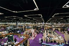 The OCC Exhibit halls all have 30' ceilings.