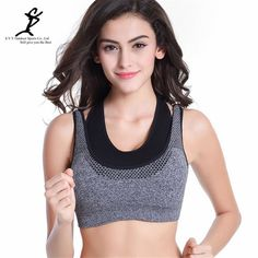 Professional Sports Mesh Fitness Women Yoga Top Sexy Push-up Sports Bra Yoga Fitness Vest Bra Workout Running Top Bra