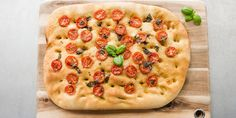 Try this Spelt focaccia recipe by Chef Emma Sievwright. This recipe is from the show The Great Australian Bake Off. Bake Off Recipes, Brunch Recipes, Great Australian Bake Off, Spelt Recipes, Focaccia Recipe, Spelt Flour, Cherry Tomatoes, Vegetable Pizza, Favorite Recipes