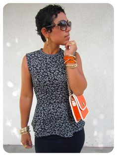 DIY Peplum Top + Pencil Skirt + Pattern Review Vogue 8815