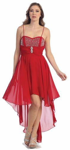 Semi Formal Red Dresses