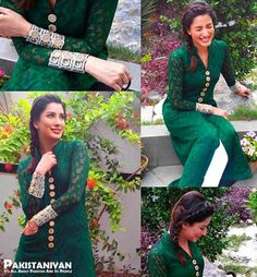Pakistani Jashn-e-Azadi Independence Day 14 August Dresses for Girls