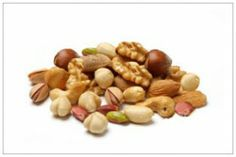 Nuts are healthy snacks with great taste. They are fruits that are rich in vitamins, minerals, proteins and healthy fatty acids. Many studies has proved nuts healthy benefits and their help in reducing many diseases. Get Healthy, Healthy Snacks, Healthy Recipes, Healthy Eats, Food C, Sports Nutrition, Natural Cures, Dog Food Recipes, Food Tips