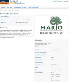 Green Garden Mario neu bei Firma Scout24