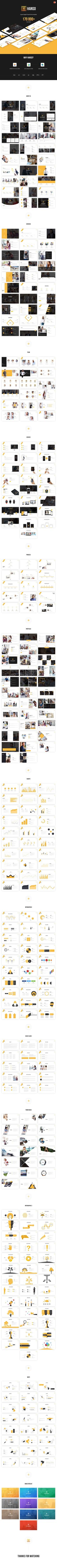 Supercharged PowerPoint Template by Grooni on @creativemarket #powerpoint #presentation #template #graphicriver #free #business