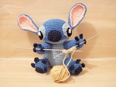 Ravelry: Amigurumi Stitch! from Lilo and Stitch pattern by Shannen C.