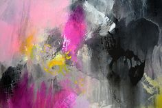 Original Gemälde Ladies night abstrakte Malerei