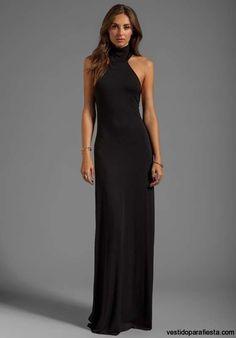 Elegantes y modernos vestidos largos de fiesta con escote en la espalda – 15