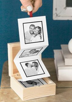 DIY Pull-Out Photo Album
