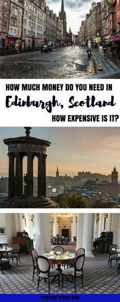 Guide to Edinburgh prices. How expensive is Edinburgh, Scotland? Prices in Edinburgh. Budget-friendly Edinburgh.