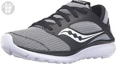 Saucony Women's Kineta Relay Black/White/Knit Sneaker 7 B (M) (*Amazon Partner-Link)