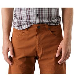 Bastion Long Men's Versatile, durable cotton/nylon canvas work short for cragging and casual wear.