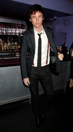 I love every single article of clothing this man wears. Every. Single. Thing. (Eddie Redmayne)
