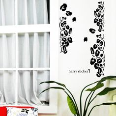 wallsticker summer-flowers Wallpaper interior Design