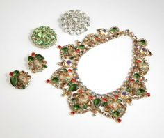 weiss jewelry | collection of costume jewelry, Juliana, Weiss