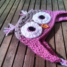 Bonnet bébé très chouette - Les tricots de Fanny - Lien vers le tuto c3f11e4f716