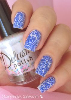 "Delush Polish ""Cirque Fantastique"" & Stamping"