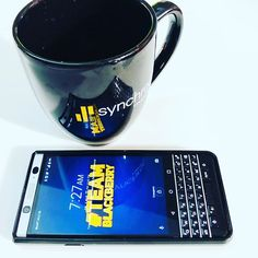 #inst10 #ReGram @supers_tyler: Wrapping up the week. #synchrony #blackberry  #morning #blackberryclubs #keyone #gptw #work  #teamblackberry #android