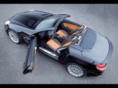 Mercedes-Benz SLK looking sweet