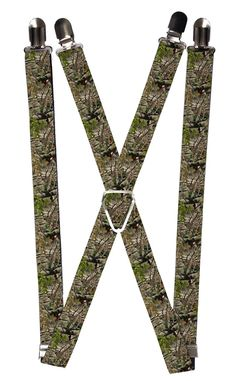 These camo suspenders are a great addition to a kid's outfit while also holding up their pants where they should be.