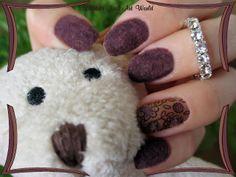 Lillibit´s Nail Art World: Velvet nails BPS