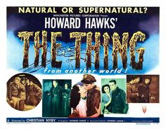 The many posters 'The Thing From Another World'