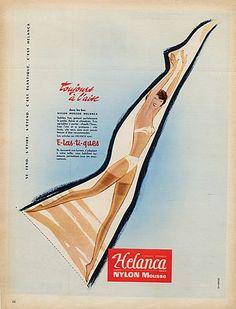Lady Stockings, Vintage Stockings, Vintage Advertisements, Vintage Ads, Nylons, Cute Cartoon Girl, Secret Love, Hosiery, Pin Up