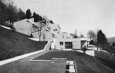 Middle School, St. Imier, Switzerland, 1963 (Frédéric Brugger)