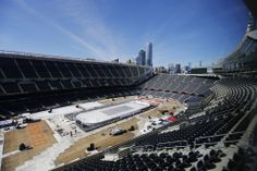 Mayor Rahm Emanuel is in the very preliminary stages of looking at a 5,000-seat expansion of Soldier Field.