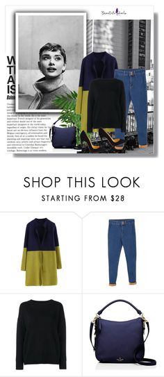 """""""17"""" by zerina93 ❤ liked on Polyvore featuring Religion Clothing, WithChic, Frame Denim, Kate Spade, Christian Louboutin, polyvoreeditorial, topset and beautifulhalo"""