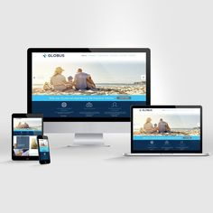 Globus website (IN SPANISH) by PuntoCreativo