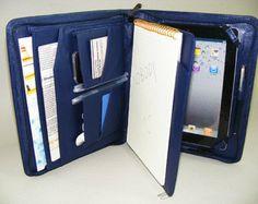 iPad 4 caso de cartera de cuero con interior de panel de