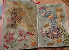 Good piece on what the blogger learned in a beginning art-journaling workshop: http://lettersfromlin.blogspot.com/2012/03/getting-started-with-art-journaling.html