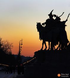 Heroes' square by Dora on Hungary, Budapest, Beautiful