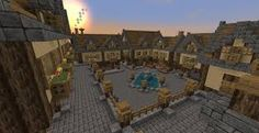 Bildergebnis für minecraft mittelalter Stadt