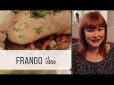 Frango no papelote com toque tailandês - YouTube