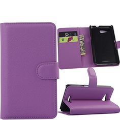 Jusun Sony Xperia E4g Case, Customized Leather Folio Stand Protective Wallet Case Cover For Sony Xperia E4g (purple) http://www.smartphonebug.com/accessories/13-best-sony-xperia-e4g-dual-cases-and-covers/