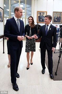 The Duke and Duchess of Cambridge attended to pay their respects to the victims of the Orl...