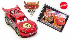 Disney Cars Toon Dragon Lightning McQueen with Metallic Finish and 2010 Collector Guide Book  Hi YouTubers and welcome to ToyPitStop. This time I will show you from Mattel Cars Toon Dragon Lightning McQueen with Ransburg paint (and oil stains). This release from 2010 with collector number 31 features beside the exclusive diecast also a collector guide with 200 pages and shows over 250 different models. #disney #pixar #carstoon #lightningmcqueen