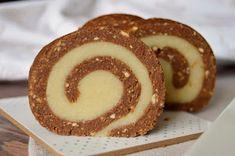 Citromhab: Marcipános keksztekercs No Bake Desserts, Doughnut, Fudge, Biscuits, Rum, Rolls, Lemon, Pudding, Sweets