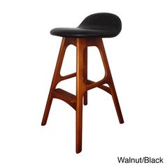 Still playing with the idea of stools against the counter - these would match our kitchen perfectly!  Mid Century Style Bar Stool