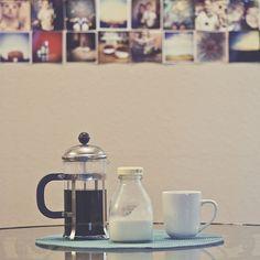 Coffee: french press beauty (even though i'm a moka girl)