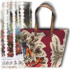 From French Riviera, antique tapestries with seventies design. leshopdemoz.com